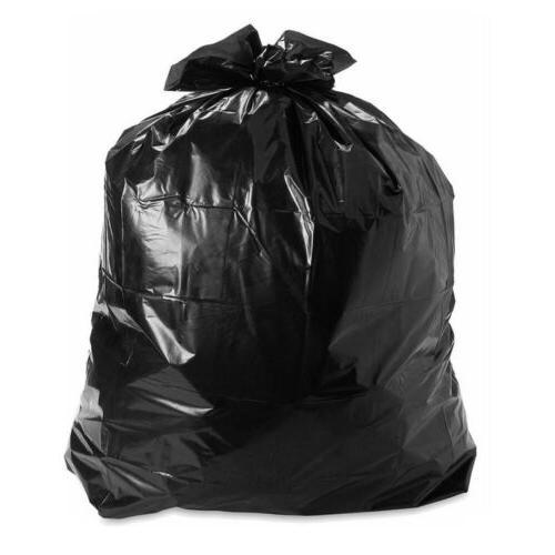 50/100/150/200pcs Heavy Duty 64 Gallon Trash Bags