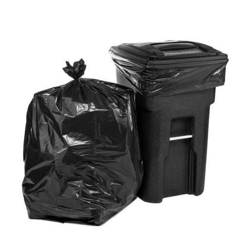 50/100/150/200pcs 64 Gallon Trash Bags Yard Can