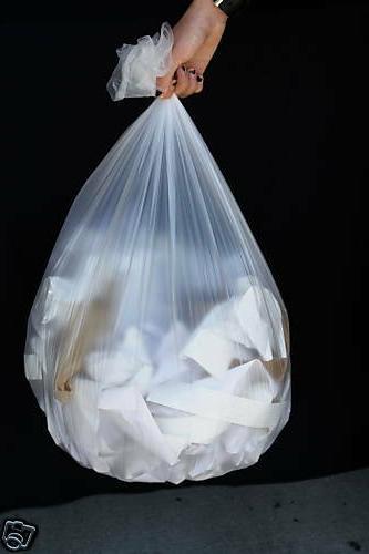 """250~ 40x48"""" 16 Garbage Waste Trash Liner Bags"""