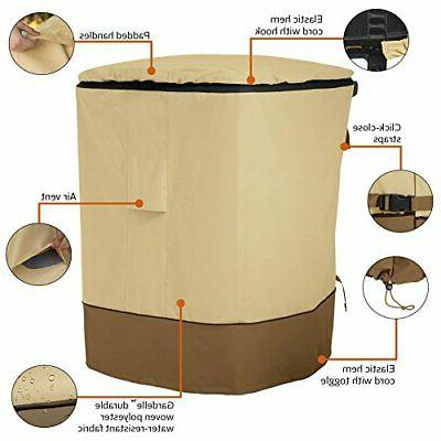 Classic Accessories 96-Gallon Trash Cover