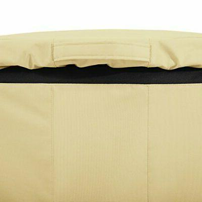 Classic Accessories Veranda 96-Gallon Rolling Trash Cart Cover