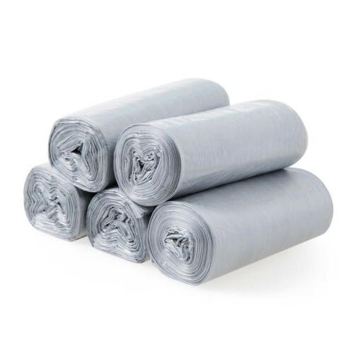 10Rolls Plastic Garbage Trash Wastebasket Liner