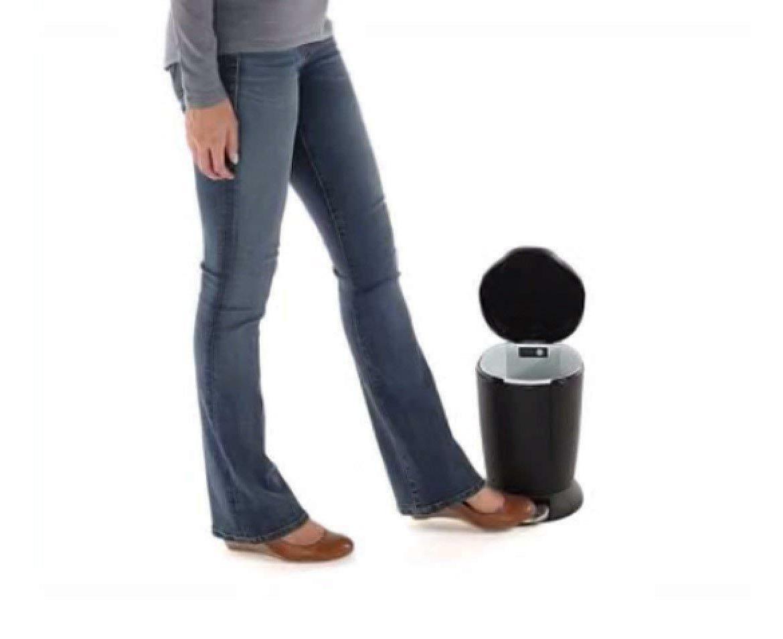 simplehuman 6 Liter / 1.6 Gallon Round Trash Can