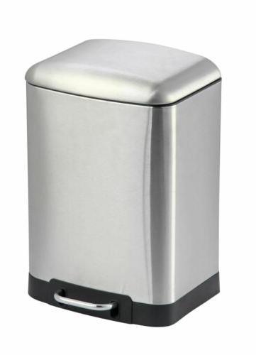 6 liter soft close waste bin garbage