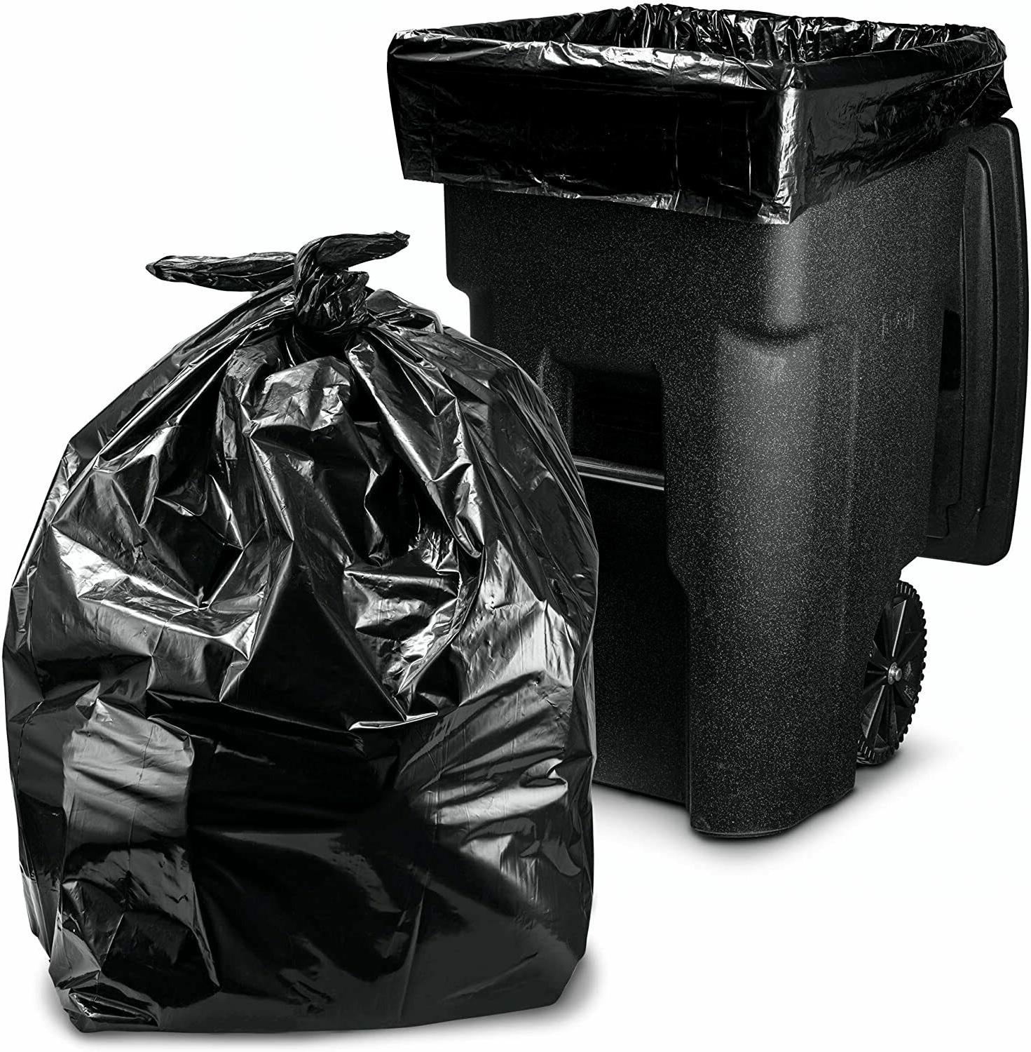 96 gallon wheeled trash can liners garbage