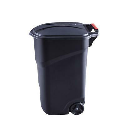 45 Gallon Trash Wheeled Waste Garbage Bin