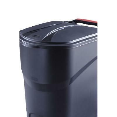 45 Gallon Large Trash Can Wheeled Garbage Plastic Container