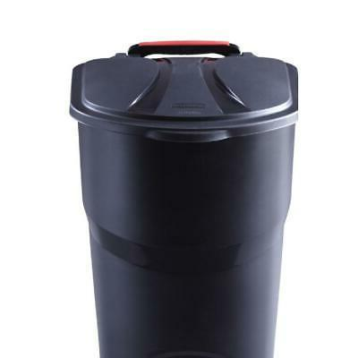 45 Large Trash Garbage Plastic Container