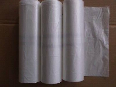 66ct,45 to bag,trash can liner,clear natural color commercial