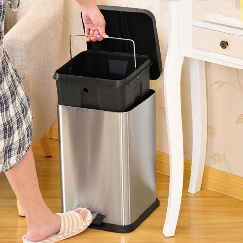 6L/1.6G Trash Kitchen Garbage with Stainless
