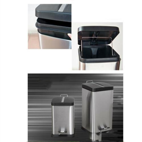 6l 1 6g trash can modern kitchen
