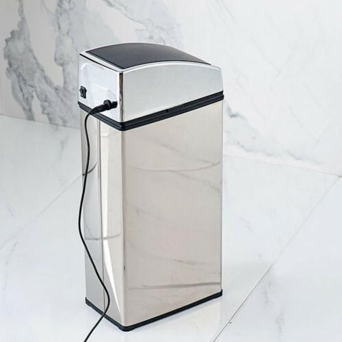 6L Stainless Garbage Motion Sensor Touchless