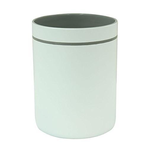 89563 portico gray wastebasket garbage