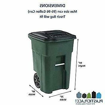 95-96 Garbage Can Liners 1.5 Heavy