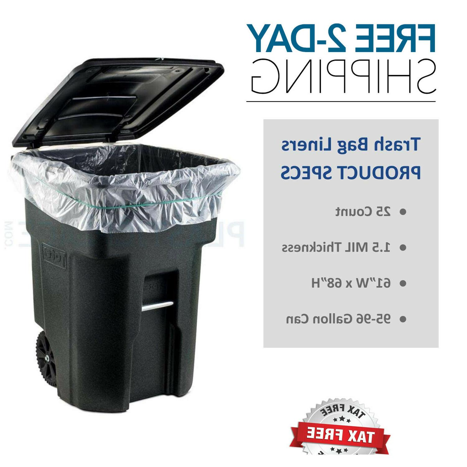 95 96 gallon garbage can liners 1