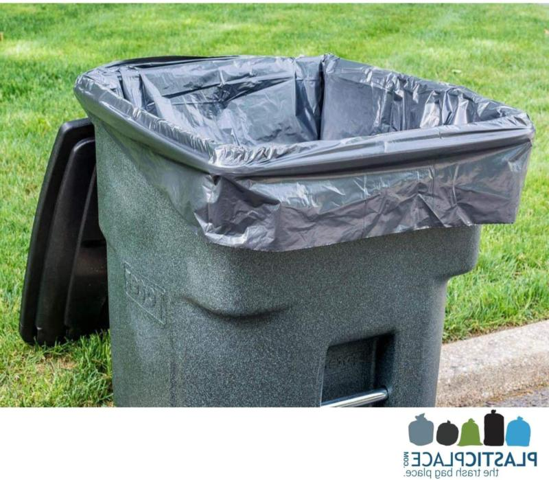 WHEELED Garbage Container Waste Bin 25 Count