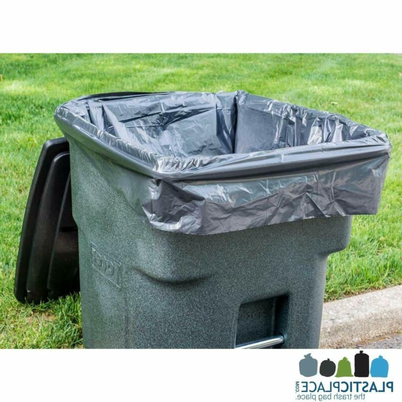 96 GALLON CAN Lid Garbage Container Outdoor Count