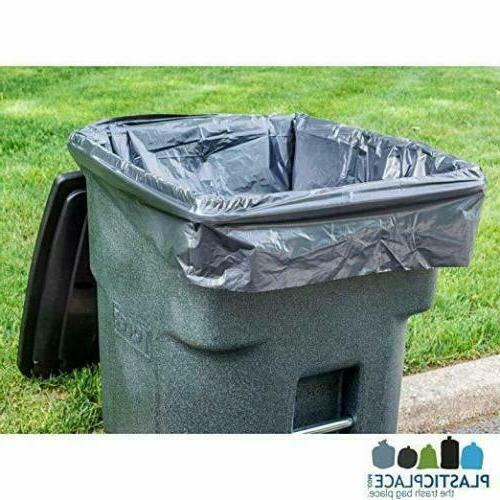 95 GALLON WHEELED TRASH CAN Outdoor Bin Wheel