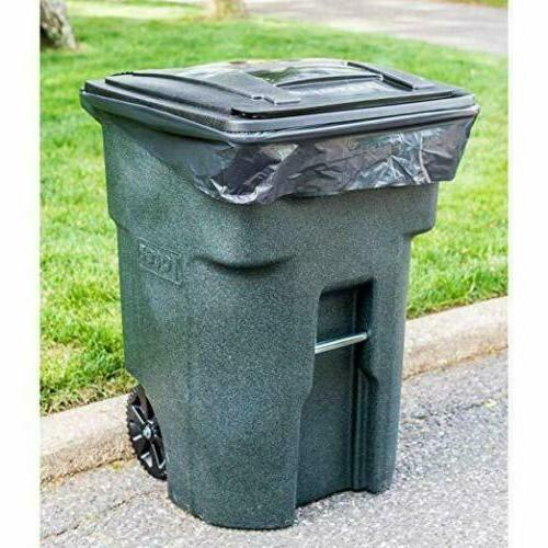 95 CAN Lid Garbage Container Outdoor Basket Wheel