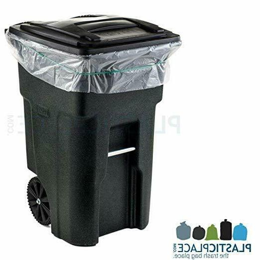 95-96 CAN Lid Garbage Outdoor Waste Bin Wh