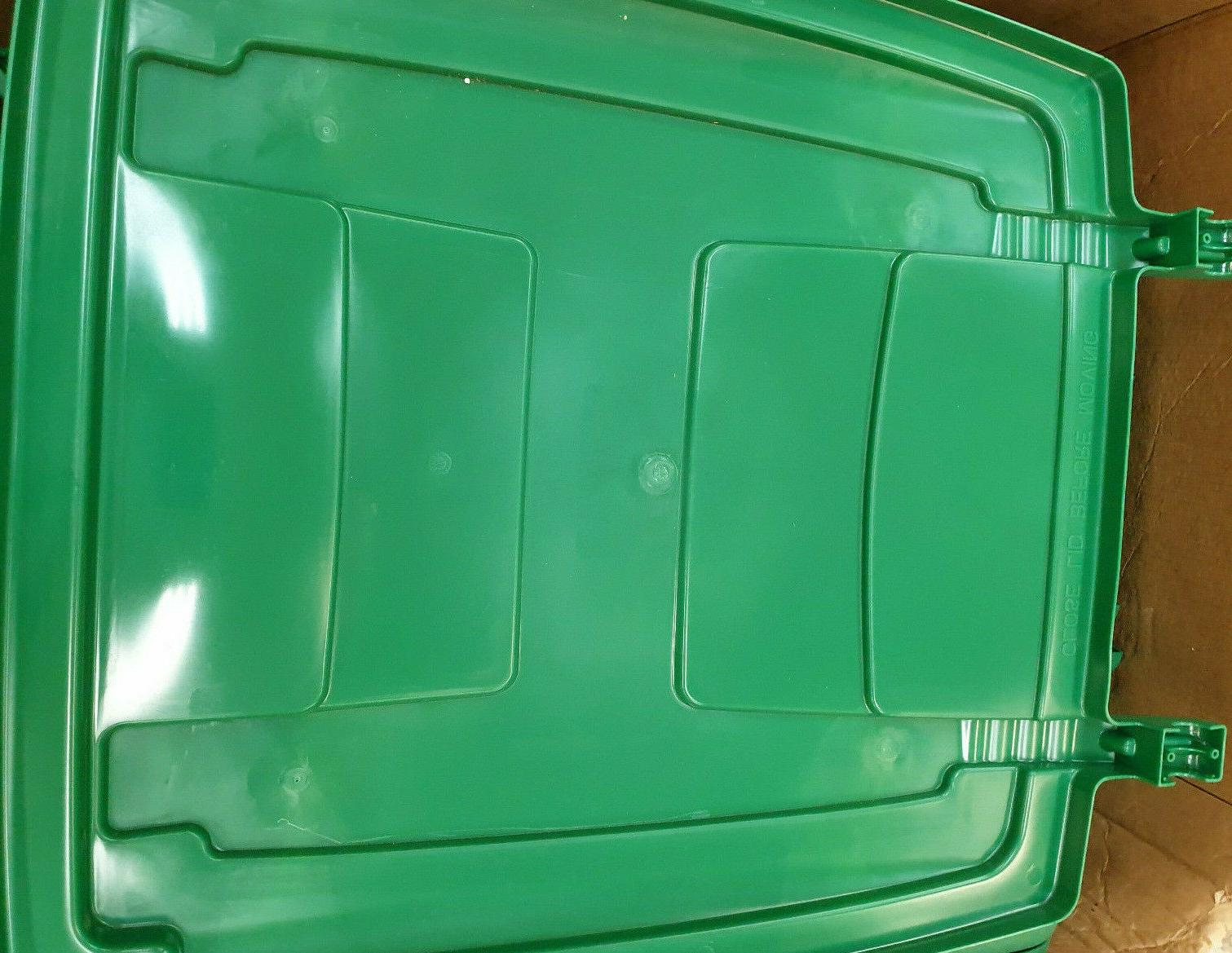 toter 96 gallon garbage can recycle lid/top