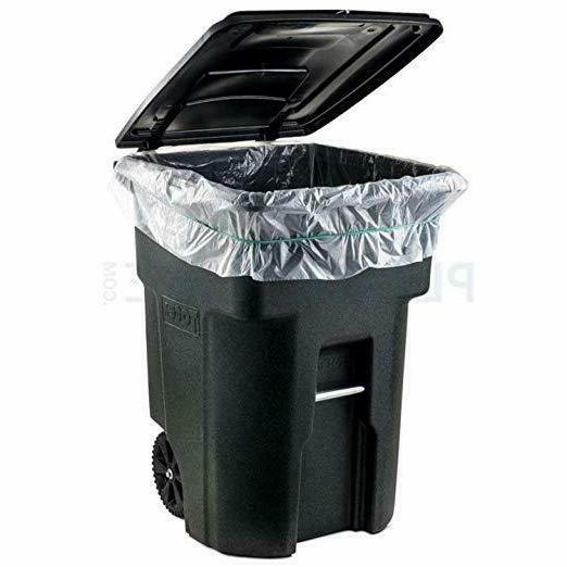 96 CAN Garbage Container Outdoor Waste Bin Wheel