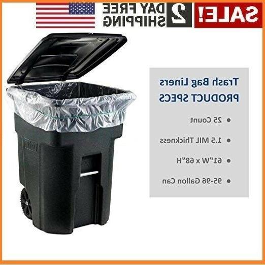96 gallon wheeled trash can lid garbage