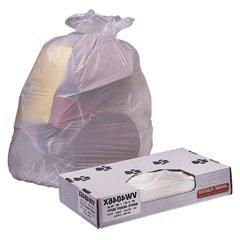 JAGUAR PLASTICS Low-Density Can Liner 33-Gallon, 0.70 Mil in