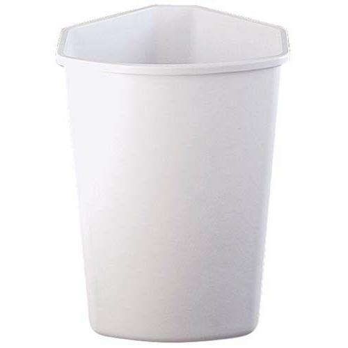 Knape & Vogt QT32PB-W Replacement Trash Can, 20 by 14 by 11.