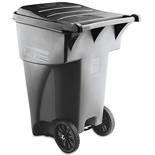 Rubbermaid Commercial Brute Rollout Heavy-Duty Waste Contain