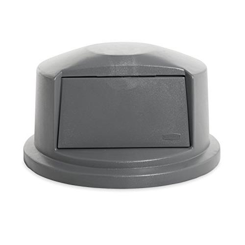 Dome Door Lid for Waste/Utility Containers,