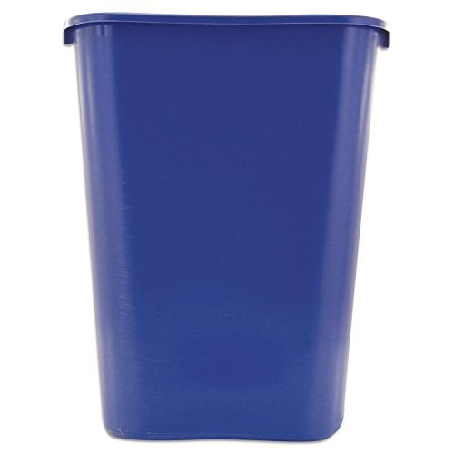 Rubbermaid 295773BE Deskside Container Rectangular, Plastic,