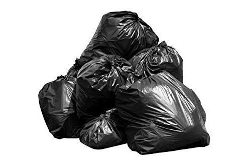 bags, Black, Mil, 61x68, Per Case
