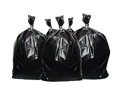 Toughbag bags, Black, 61x68, 25 Garbage Per