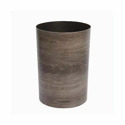 Umbra Treela Can – Can Bathroom, Bedroom, Office and More | Capacity with Barn Wood Finish