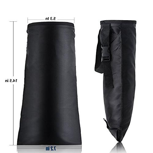 Vmotor Bags, Washable Truck Hanging Bags Home Vehicle Use - Black, 2