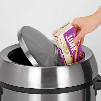 Alpine Steel Swivel Trash Cover Waste Lid