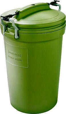 Animal Stopper RM5F8201 Durable Trash Can, 32 gal, 25 in L x