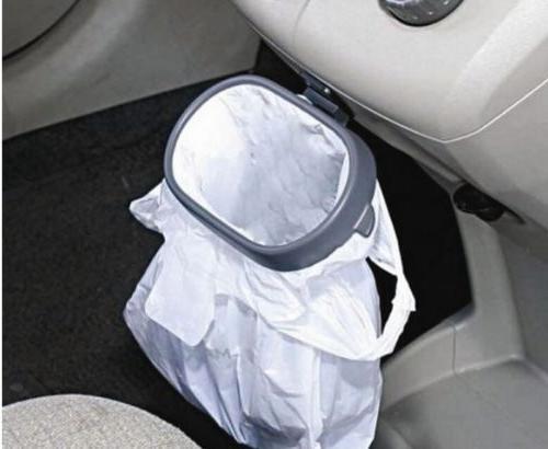Car Trash Garbage Foldable Storage Rubbish LD