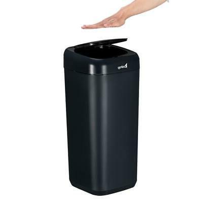 Auto Trash Can Home Waste Basket Blue