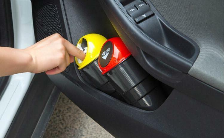 Auto Vehicle Car Mini Trash Home Can Dust Case