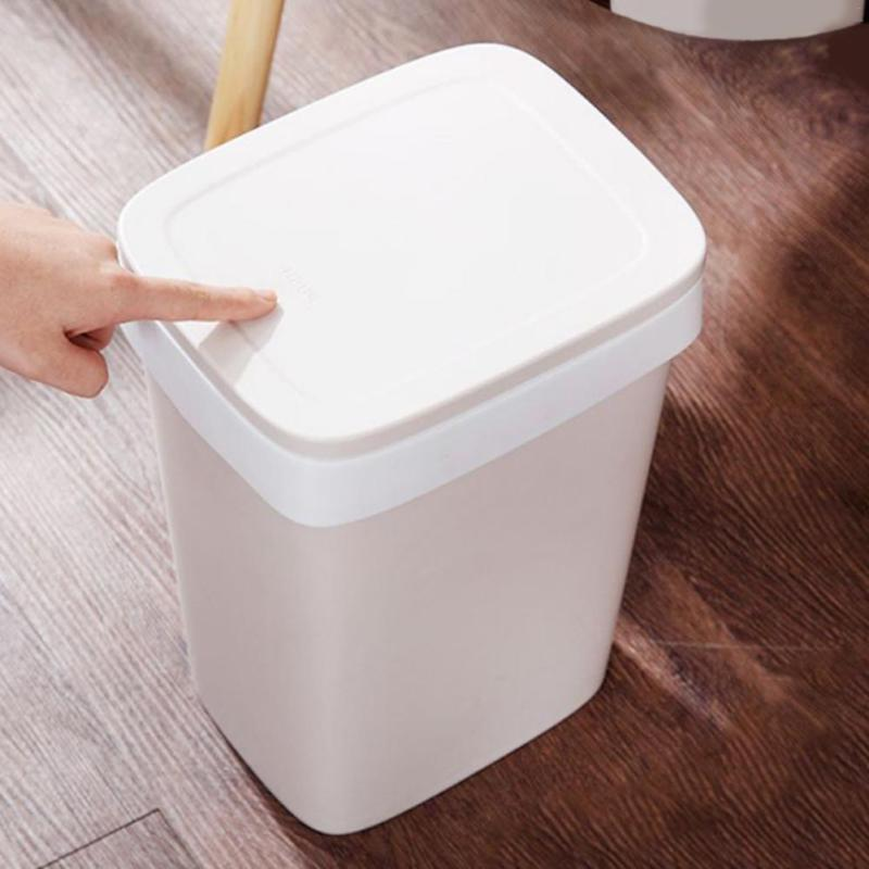 Automatic Garbage Trash Can With 6 Roll Bag