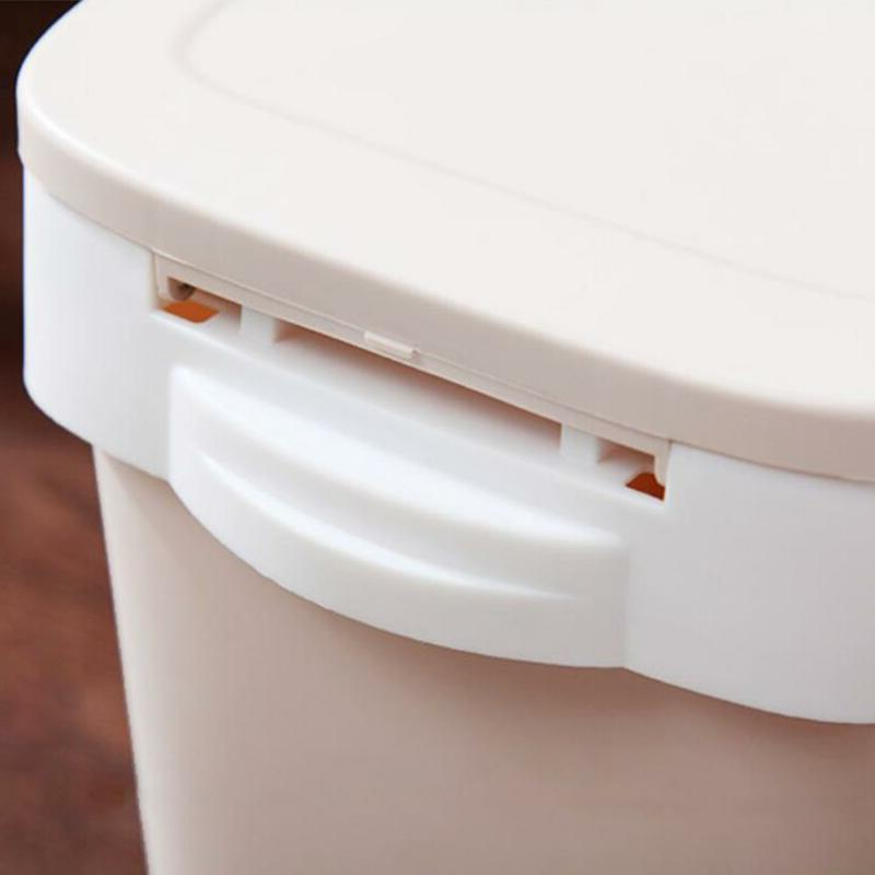 Automatic Bag Trash Can With Garbage Bag