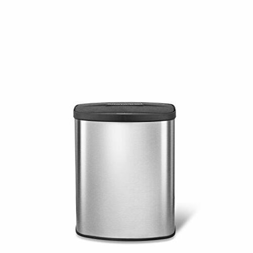 Automatic Garbage Can Sensor Stainless Steel Touchless