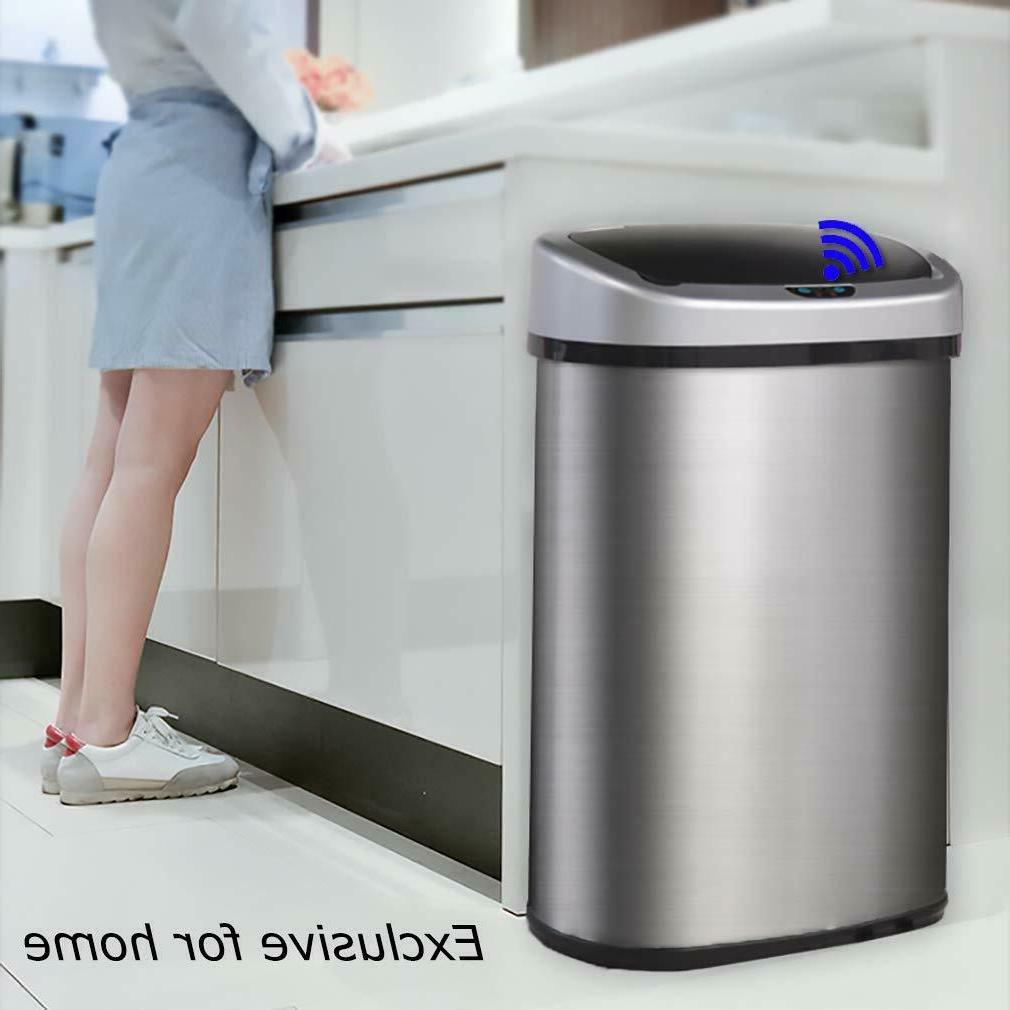 New Touch Free Sensor Automatic Touchless Can Kitchen Office