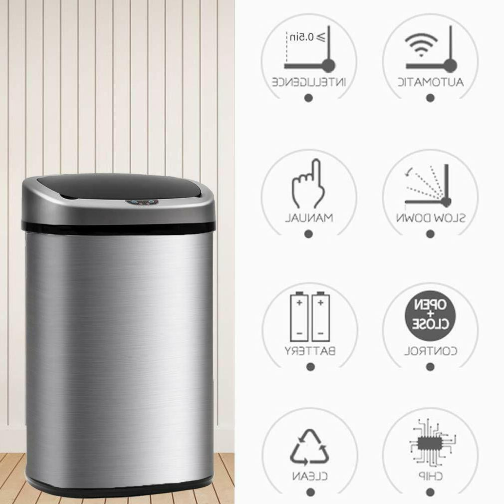 New Sensor Automatic Touchless Can Kitchen Office