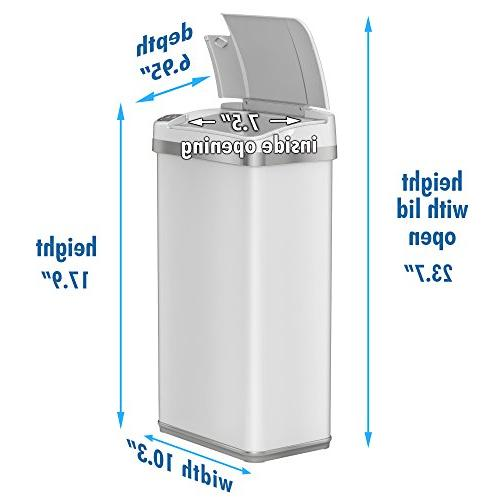 iTouchless Automatic Touchless Trash Odor Filter Fragrance – 4 15