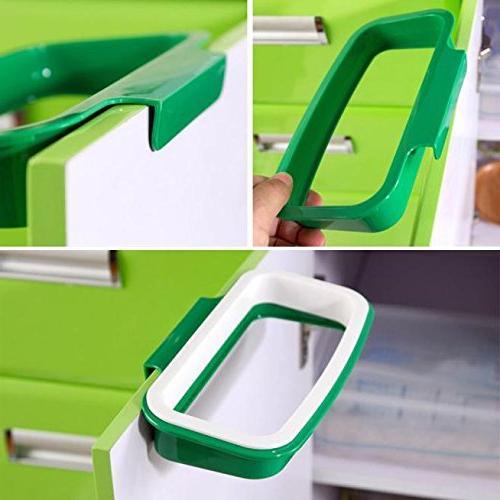 bag holder cabinet trash can