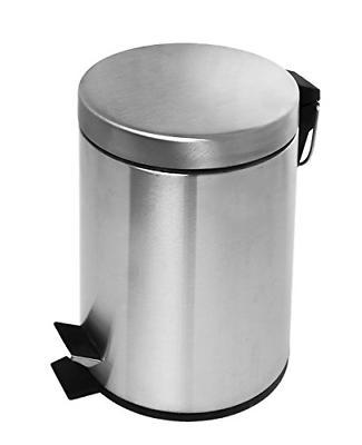 bathroom bath stainless steel trash garbage can