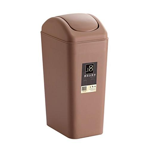 topgalaxy.z bathroom trash can with lid, small garbage